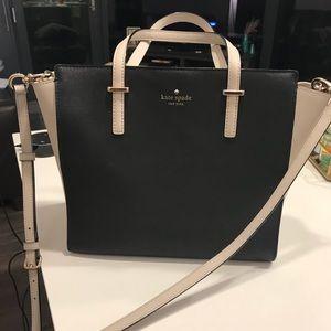 Kate Spade Cedar St. Hayden Bag-Color: Black/Cream